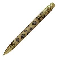 PSI Druck - Kugelschreiber Dog goldfarben