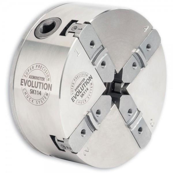 Spannfutter Axminster Evolution SK114 mit Ablaufsicherung (M33/DIN800 /Ø114mm) Body only