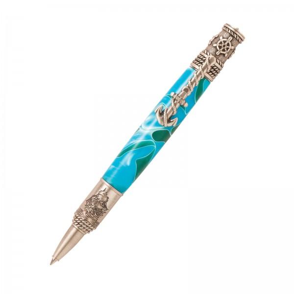 Dreh - Kugelschreiber Nautic zinnfarben