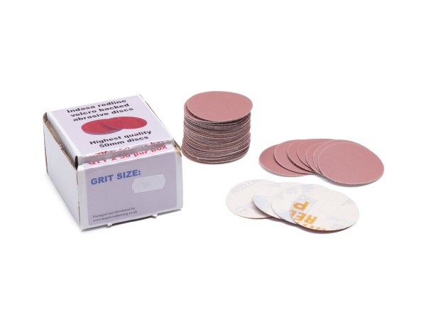50 mm Klett-Schleifscheiben, VPE: 50