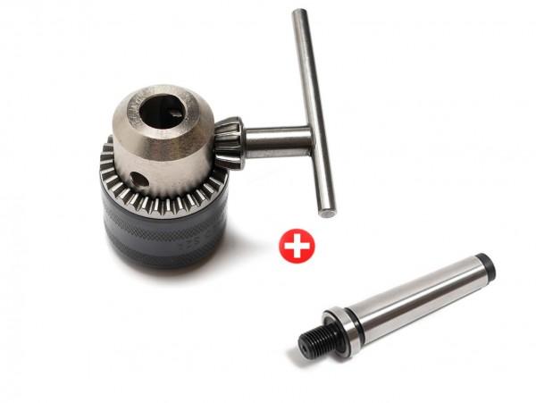 RÖHM Schlüsselspann-Bohrfutter PRIMA L 1-13 mm mit Aufnahme