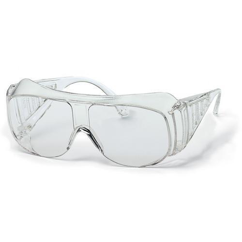 Uvex Schutzbrille 9161 für Brillenträger, blau/schwarz