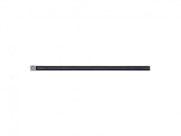 Blackline Carbide Schaft mit Schneide - 4 Eck Form