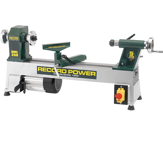 Record Power DML 250 Drechselmaschine