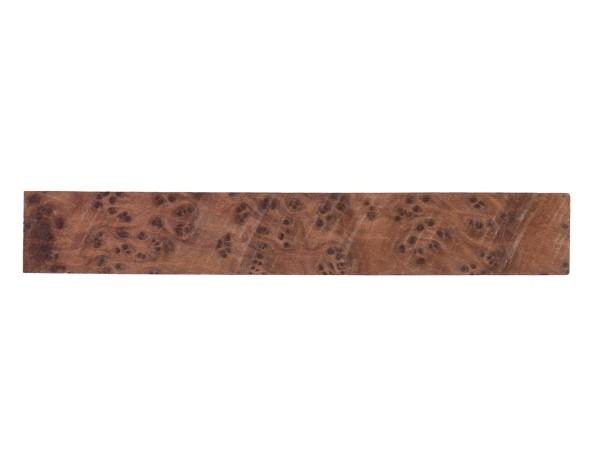 Thuja-Maser Pen Blank 18 x 18 x 125 mm
