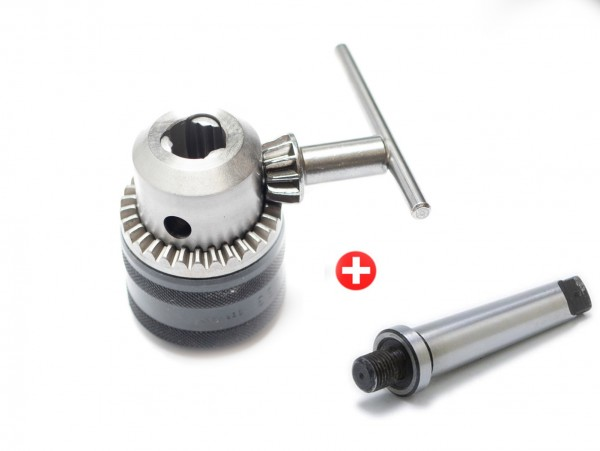 RÖHM Schlüsselspann-Bohrfutter PRIMA M 3-16 mm mit Aufnahme