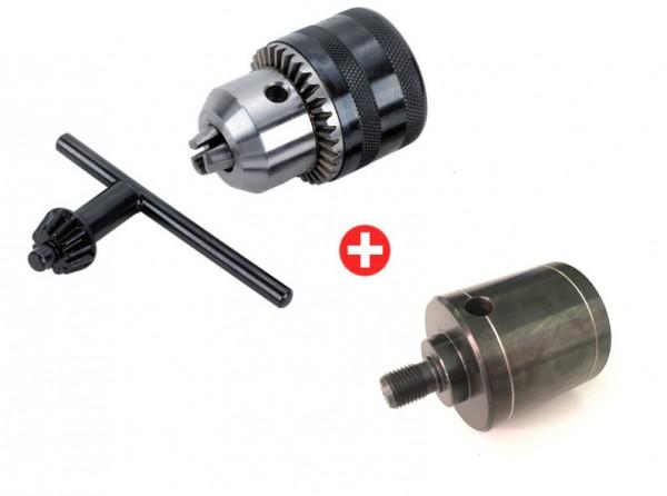 Schlüsselspann-Bohrfutter 2-13 mm mit M33/800 Adapter