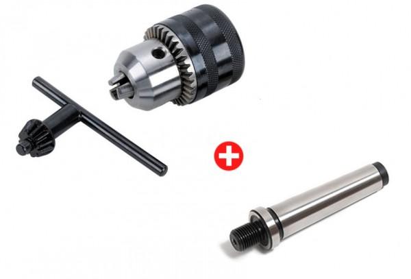 Schlüsselspann-Bohrfutter 2-13mm mit MK2 Mitnehmerzapfen