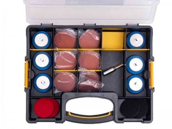 Hope Schleifbox mit 57 mm Quick Click Wechselsystem - Schleifteller