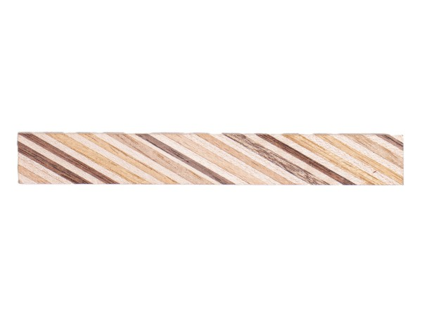 Bunt Holz Pen Blank 15 x 15 x 125 mm
