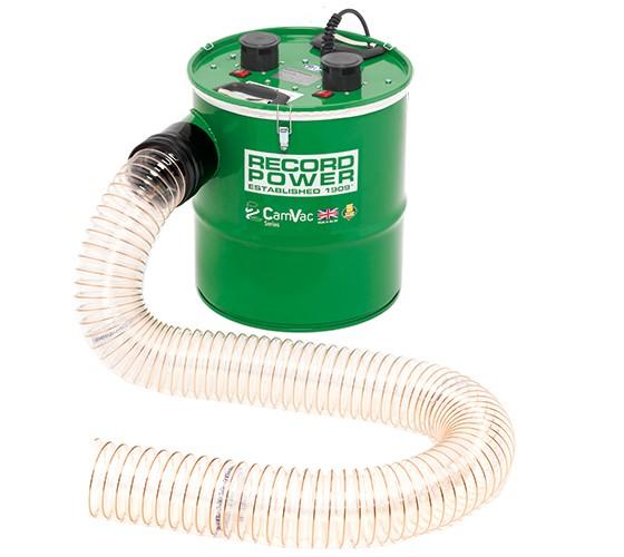 Record Power Camvac CGV286-4-EP kleine Absauganlage inkl. Schlauch und Stutzen