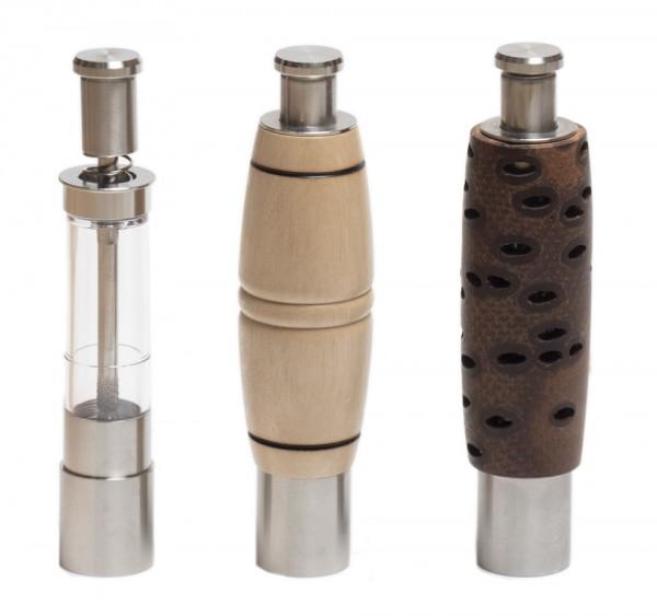 Pump-N-Grind Einhandmühle für Pfeffer