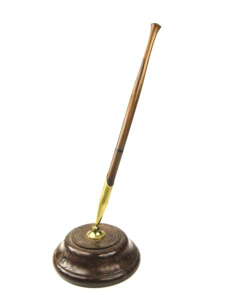 Kugelschreiber Ständer, goldfarben