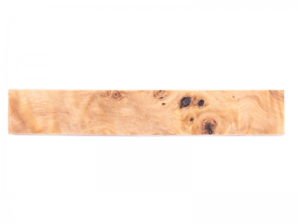 Penblank aus stabilisiertem Maser Holz naturfarben