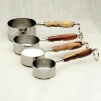 Messbecher für Cup-Rezepte aus Edelstahl